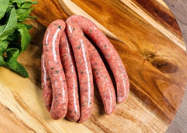 Organic Lamb & Rosemary Sausages