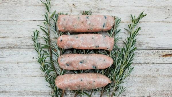 Organic Beef, Honey & Garlic Sausages