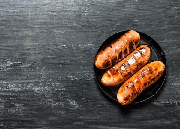 Organic Chicken & Spinach Sausages