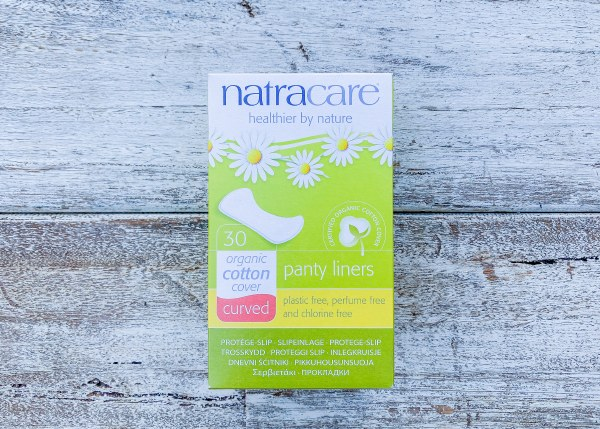 Natural Panty Liners (Curved)