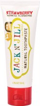 Natural Childrens Toothpaste - Strawberry