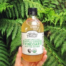 Organic & Unfiltered Apple Cider Vinegar