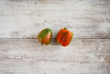 Organic Coloured Capsicum