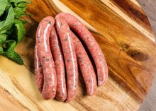 Organic Lamb & Rosemary Sausages