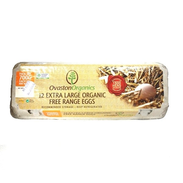 Country Range Eggs Ex Large 700g Dozen