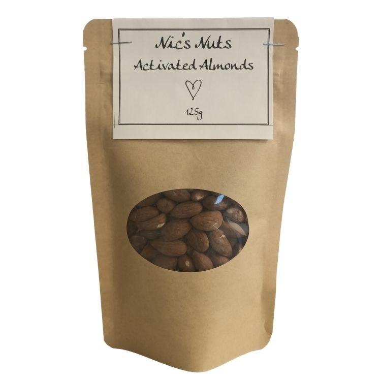 Nic's Bics Activated Almonds 100g