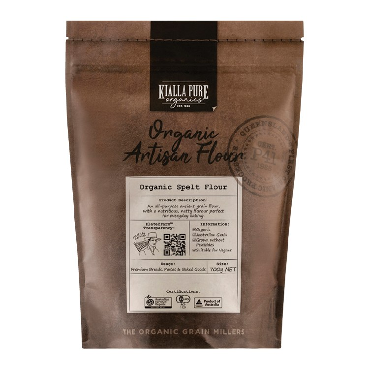 Organic Spelt Flour 700g