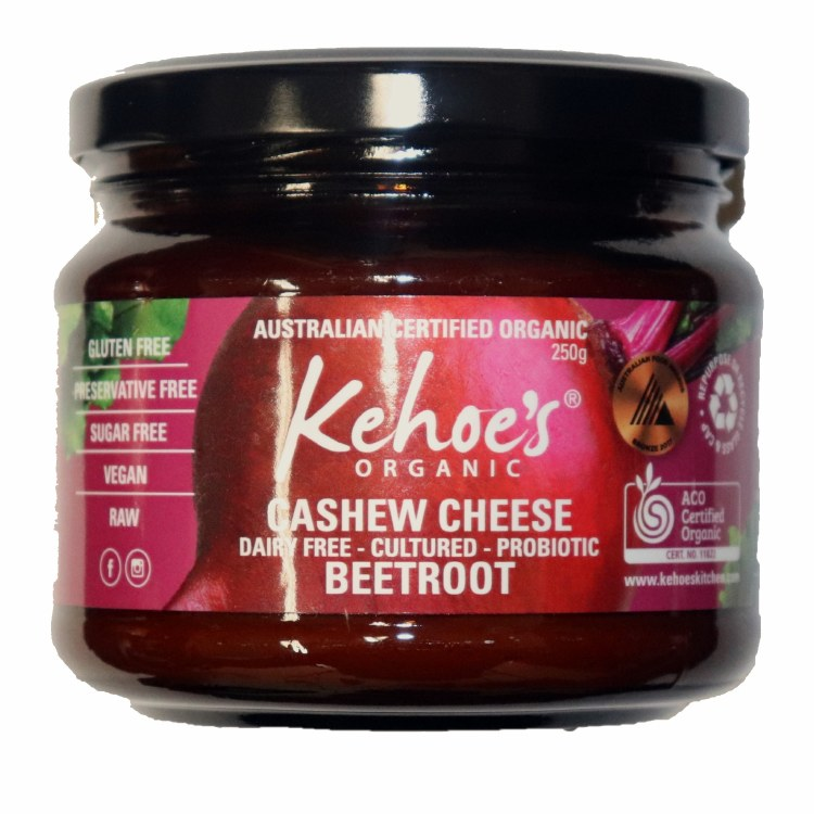 Beetroot Cashew Cheese Dip 250G
