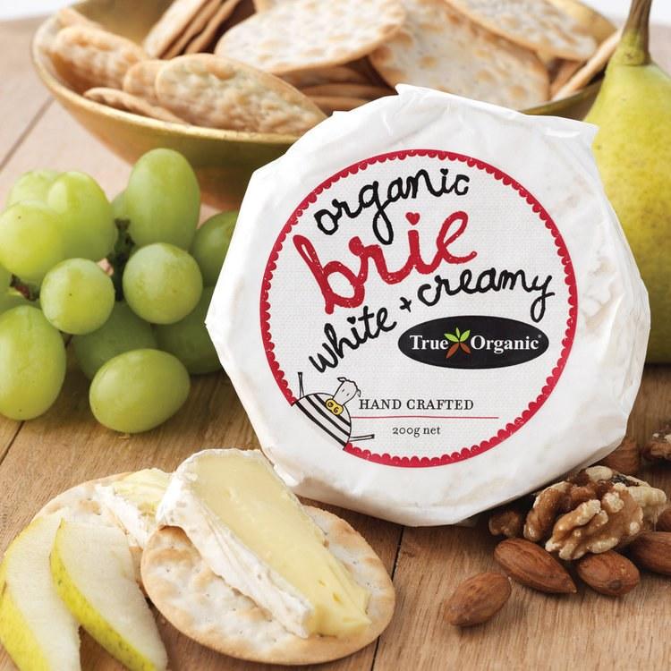 Brie 200g True Organic