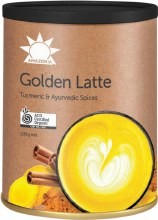 AMAZONIA -Golden Latte Turmeric & Ayurvedic Spices 100g