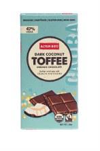ALTER ECO -Chocolate (Organic) Dark Coconut Toffee 80g