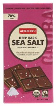 ALTER ECO - Chocolate (Organic) Dark Sea Salt 80g