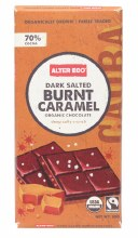 ALTER ECO -Chocolate (Organic) Dark Salted Burnt Caramel 80g