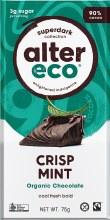 ALTER ECO -Chocolate (Organic)Dark Crisp Mint
