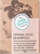 THE AUST. NATURAL SOAP CO -Solid Shampoo Bar Original