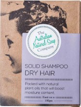 THE AUST. NATURAL SOAP CO -Solid Shampoo Bar Dry Hair