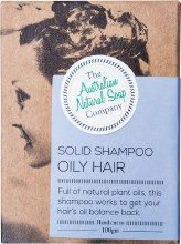 THE AUST. NATURAL SOAP CO -Solid Shampoo Bar Oily Hair