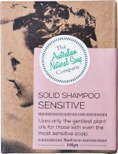 THE AUST. NATURAL SOAP CO -Solid Shampoo Bar Sensitive Scalp