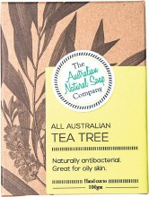 THE AUST. NATURAL SOAP CO - Face Soap Bar Tea Tree