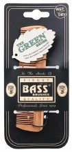 BASS BRUSHES -Bamboo Wood Tortoise Comb Pocket Size - Fine Tooth 1