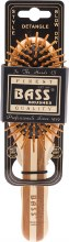BASS BRUSHES -Bamboo Wood Hair Brush Small Oval 1