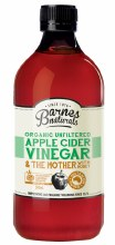 BARNES NATURALS -Apple Cider Vinegar and Honey Simply add 1tsp to water 500ml