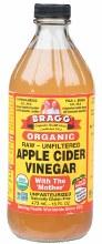 BRAGG -Apple Cider Vinegar Unpasteurised & Unfiltered 473ml