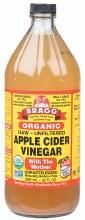 BRAGG -Apple Cider Vinegar Unpasteurised & Unfiltered 946ml