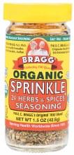 BRAGG - Seasoning Organic Sprinkle 42.5g