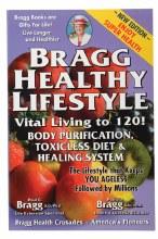 BOOK -Bragg Healthy Lifestyle by Paul & Patricia Bragg