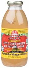 BRAGG -Apple Cider Vinegar Drink ACV with Honey 473ml