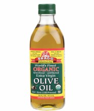 BRAGG -Olive Oil (Extra Virgin) Unrefined & Unfiltered 473ml