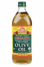 BRAGG -Olive Oil (Extra Virgin) Unrefined & Unfiltered 946ml