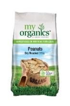 Peanuts Dry Roasted 250G My Organics