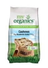 Cashews Roasted Salted 200G My Organics