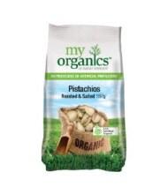 Pistachio Roasted Salted 150GMy Organics