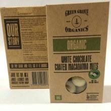 White Choc Macadamias 180g