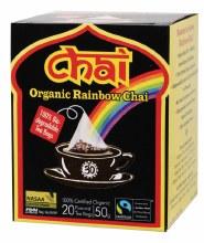 CHAI TEA -Organic Rainbow Chai Tea Bags 20