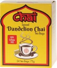 CHAI TEA -Spiced Dandelion Chai Tea Bags 24