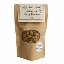Nic's Bics Activ Curry Almond 100g