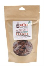 Activated Organic Pecans Vegan 120g