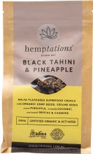 2DIE4 LIVE FOODS -HemptationsBlack Tahini & Pineapple