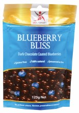 Blueberry Bliss Dark Chocolate Blueberries 125g