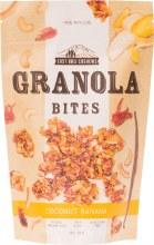 EAST BALI CASHEWS -Granola Bites Coconut Banana 150g