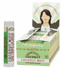 ALAFFIA-COCONUT -Lip Balm Coconut Mint 4.25g