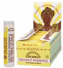 ALAFFIA-COCONUT -Lip Balm Coconut Pineapple 4.25g