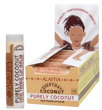 ALAFFIA-COCONUT -Lip Balm Purely Coconut 4.25g