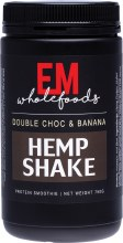 EM WHOLEFOODS -Hemp ShakeDouble Choc & Banana