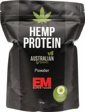 EM WHOLEFOODS -Hemp Protein Australian Grown 500g