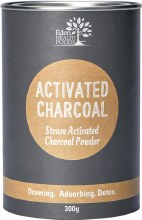 EDEN HEALTHFOODS -Activated Charcoal Steam Activated Charcoal Powder 300g
